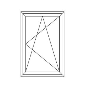 fereastra pvc cu geamuri termopan