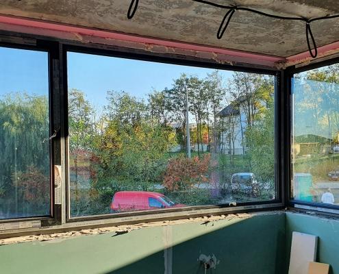 geamuri termopan pe colt
