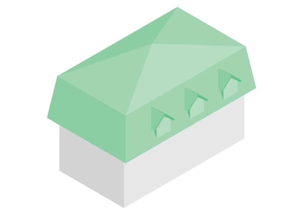 acoperis mansarda model 1