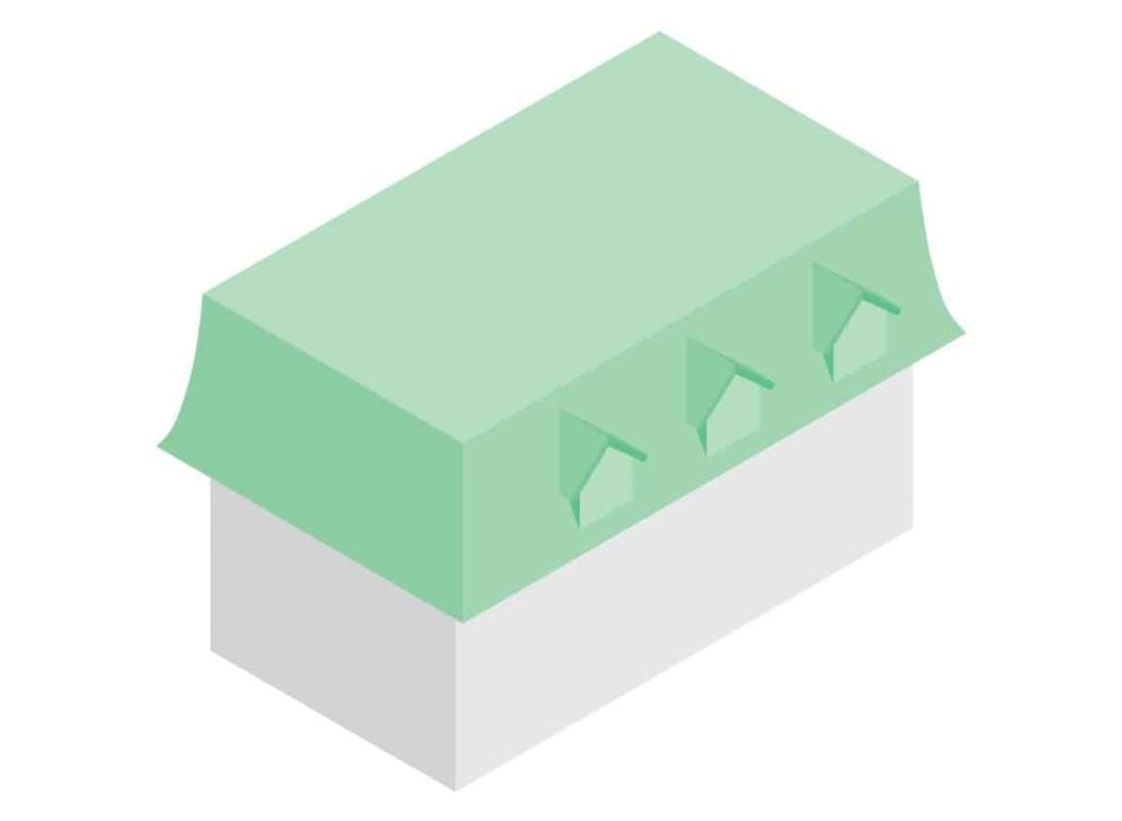 acoperis mansarda model 2