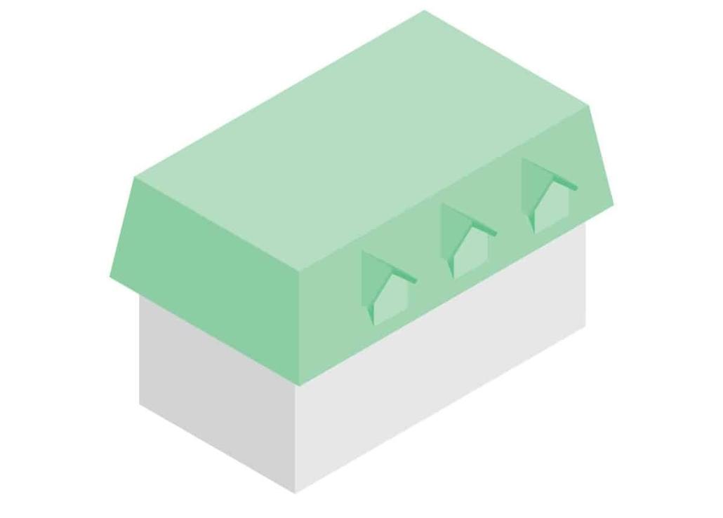 acoperis mansarda model 3