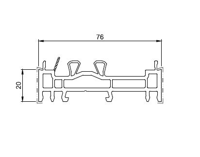 profil compensator 20mm greenEvolution 76